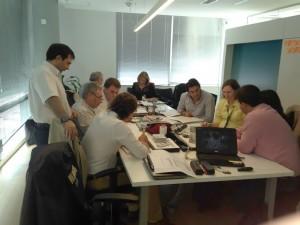 Equipe Nestlé Argentina em práticas de Engenharia e Análise do Valor (15 set/15)