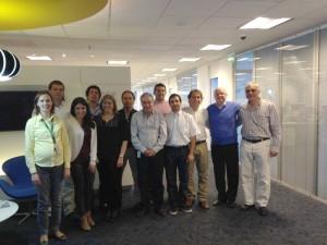 Equipe da Nestlé Argentina participantes do treinamento de Engenharia e Análise do Valor (15 set/15)