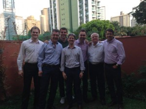 Equipe SAMARCO no treinamento de Formação de Moderadores de VIPs - Value Improving Practices, na cidade de Belo Horizonte (25 set/15)