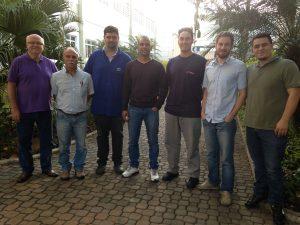 Equipe Urba – BROSOL no treinamento de FMEA realizado na unidade de Vinhedo em 15/7/16