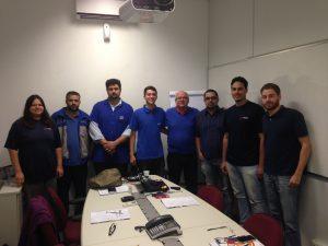 Equipe Urba – BROSOL e Inpacom no treinamento de PPAP 4 ª Edição realizado na unidade de Vinhedo em 12/8/16