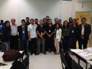 Equipe Embraer de São José dos Campos no curso de Engenharia e Análise do Valor referente ao PRODEN. (ago/16)
