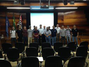 Semana das Engenharias da Faculdades Claretiano e equipe do projeto Baja. 25/10/16