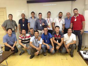 Equipe da Chassis Brakes no curso de FMEA de Processos. Campinas 16/03/17.