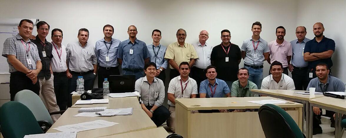 Equipe da CBI – Chassis Brakes International em Campinas no curso de Engenharia e Análise do Valor. 17 a 20/01/2017